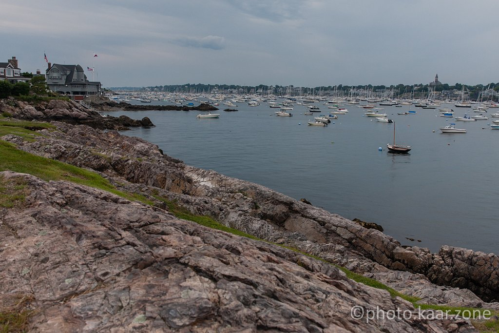 Marblehead Harbor from Chandler Hovey Park