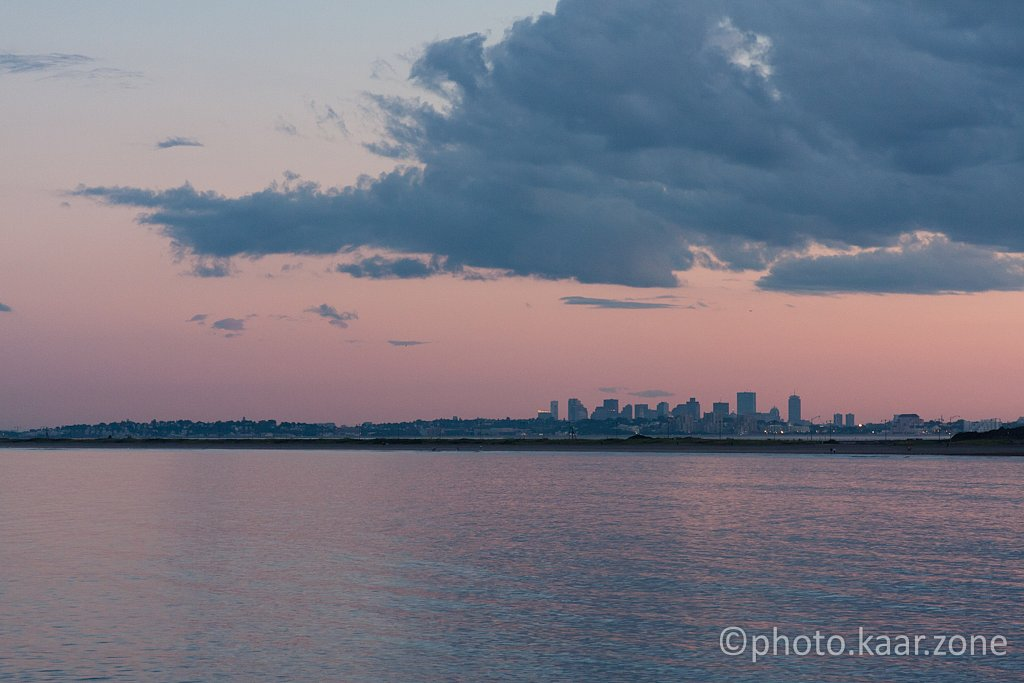 Boston Skyline from Red Rock Park