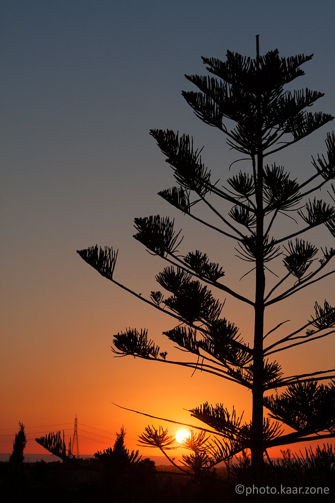 Sunset over Milazzo