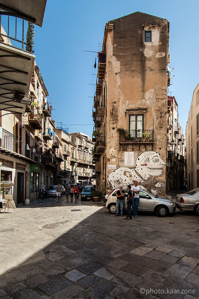 Albergheria, Old Palermo