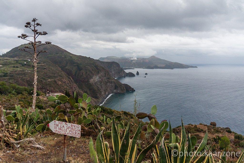Lipari South Coast and Vulcano